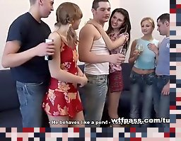college student sex party